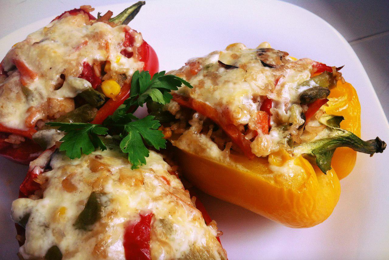 Вторые блюда из болгарского перца рецепты